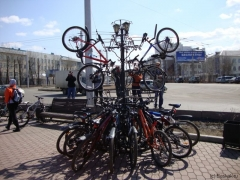 Вело парковка